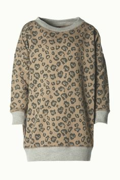 Oversized Sweater Leopard - A Day with Kate