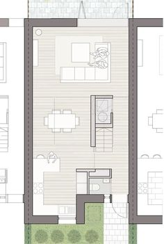 Small House Plans, House Floor Plans, Cabin Design, House Design, Architectural Floor Plans, Villa Plan, Narrow House, Interesting Buildings, Apartment Plans