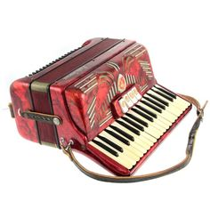 Paolo Soprani Accordion in Case.Working X / X on Dec 2016 Israel, Auction