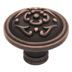 Liberty French Lace II 1-1/2 in. Cabinet Hardware Knob-PN1510-VBR-C at The Home Depot