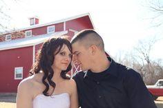 {Kansas Barn Wedding}