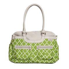 JJ Cole Satchel Diaper Bag, Green Arbor. Read more at http://www.zone355.com/jj-cole-satchel-diaper-bag-green-arbor/
