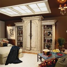 Nothing worse than finishing a basement and still having that dark, underground feeling. This is an awesome fakeout!!