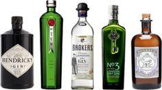 DR.SYLVIUS GIN LANE tasting pack (May 2012): Hendrick's Gin · Tanqueray No.TEN Gin · Broker's Gin · No.3 - London Dry Gin ·Monkey 47 Schwarzwald Dry Gin