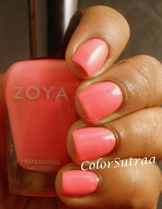 ZOYA Tickled collection for Summer 2014 : Wendy