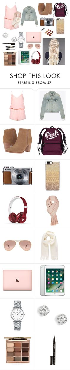 """""""Day at the mall👠👛💄"""" by katelynrose123 ❤ liked on Polyvore featuring Boux Avenue, Yves Saint Laurent, Franco Sarto, Casetify, Beats by Dr. Dre, Free People, Ray-Ban, Vivienne Westwood, Longines and Stila"""
