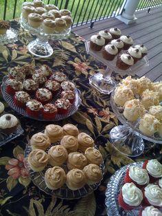 Graduation Cupcake Buffet