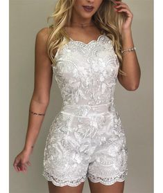 Spaghetti Strap Lace Embroidery Rompers We Miss Moda is a leading Women's Clothing Store. Offering the newest Fashion and Trending Styles. Wedding Rompers, Lace Embroidery, Prom Dresses, Wedding Dresses, Tight Dresses, Shift Dresses, Mermaid Dresses, The Dress, Pattern Fashion