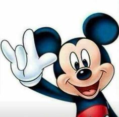 Mickey loves you! ❤️