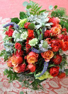 romantic red flowers, wedding ideas