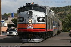 RailPictures.Net Photo: AZER 6070 Arizona Eastern Railway EMD E8(A) at Globe, Arizona by Kevin Andrusia