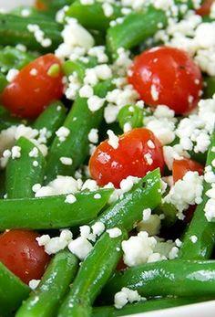 Green Bean Salad with Lemon Pepper Vinaigrette Recipe