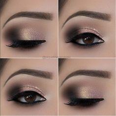 """9,461 Likes, 14 Comments - Bonitafy (@bonitafy_beauty) on Instagram: """"Best of Bonitafy # 13 @jaquelinevandoski beautiful #bonitafy #wakeupandmakeup #zukreat #amrezy…"""" Love Makeup, Makeup Inspo, Simple Makeup, Makeup Goals, Makeup Tips, Diy Makeup, Beauty Makeup, Homecoming Makeup, Prom Makeup"""