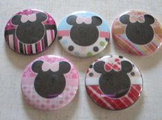 Cartoon Characters Mouse Patterned Background by BeyondAButtonShop Disney Buttons, Background Patterns, Cartoon Characters, Unique Jewelry, Handmade Gifts, Desserts, Etsy, Kid Craft Gifts, Tailgate Desserts