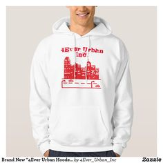 """Brand New Urban Hooded"""" With Text and Logo Don Black, Hoodies, Sweatshirts, Brand New, Urban, Logo, Sweaters, Shopping, Fashion"""