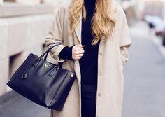 Coat with Prada