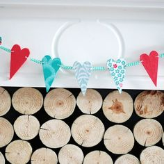 I won't leave you hanging this Valentines day! Today I've got another DIY project for you that you can make with some scrap pieces of tin MDF, some pretty tissue paper, a cotton piece of yarn and a...