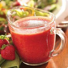 Knott's Strawberry Vinaigrette Recipe salad dress, berri delici, knott berri, strawberri vinaigrett