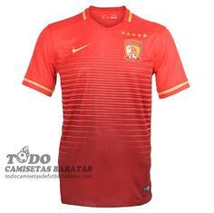 c97becbc4 primera camiseta de tailandia Guangzhou Evergrand 2016