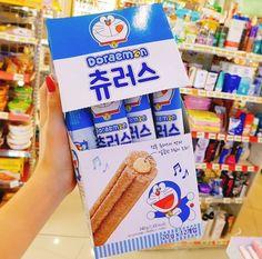 韓国で大人気のコンビニで買えるドラエモンチュロス♡