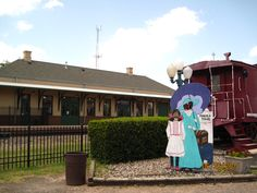 Mineola, Texas train depot