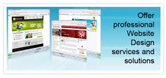 We offer SEO website design and custom web page development solutions with easy to use...
