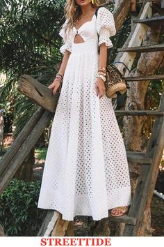 Product Elegant Pure Colour Bishop Sleeve maxi Dress Brand Name Shkeysshop SKU Gender Women Item Type Dress Pattern Plain Dress, Maxi Dress With Sleeves, The Dress, Short Sleeve Dresses, Dress Girl, Long Sleeve, Elegant Dresses, Beautiful Dresses, Casual Dresses