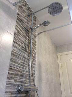 Bathroom Tiles Feature Wall mosaic tile feature wall bathroom - google search | bathroom ideas