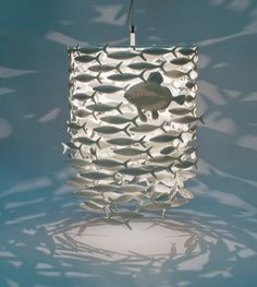 liberty of london national treasures - fish lamp Mountain House Decor, Jellyfish Light, Fish Lamp, Rick Stein, Ocean Nursery, Old School House, National Treasure, Coastal Style, Artisanal