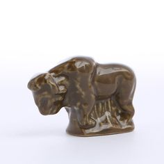 The Red Rose American Heritage Series Bison figurine is part of an exclusive 10 pc Wade Ceramics set depicting landmark moments in our national history. Red Rose Tea, National History, My Tea, Bison, Red Roses, Lion Sculpture, Miniatures, In This Moment, Statue
