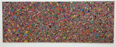 Alighiero Boetti Artist Embroidery On Canvas Tutto 1994 MMK Frankfurt Germany