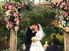 "South Korean superstars Song Joong Ki, 32, and Song Hye Kyo, 35, tied the knot in real life in a private wedding ceremony on Tuesday, October 31. The two Korean stars who played lovers in a TV drama ""Descendants of the Sun"" got married in Yeong Bin Gwan, The Shilla Hotel in Seoul, South Korea. The newlyweds will fly to Europe for their honeymoon. Happy family.. Next project soon.. Baby song.. 😂😂😂 #송중기 #송혜교 #r #SSCP #songsongcouple💕💕 #songsongcouple #songsong #songhyekyo #songjoongki…"