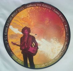 Jimi Hendrix – Woke Up This Morning And Found Myself Dead vinyl picture disc