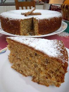 Greek Sweets, Greek Desserts, Greek Recipes, Greek Cake, Cake Recipes, Dessert Recipes, Greek Cooking, Bread And Pastries, Something Sweet
