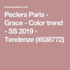 Peclers Paris - Grace - Color trend - SS 2019 - Tendenze (#838772)