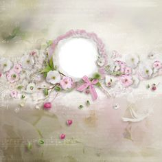 """Photo from album """"_Apples_and_Cherries"""" on Yandex. 2 Clipart, Decoupage Paper, Small Flowers, Scrapbook Pages, Scrapbooking, Embellishments, Floral Wreath, Blog, Wreaths"""