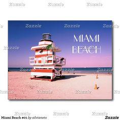 "Sold this cool ""Miami Beach 01"" postcard to Portugal, thanks! :)  #MiamiBeach #Florida #USA #Lifeguards"