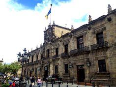 Palacio de Gobierno del Estado de Jalisco en GUadalajara