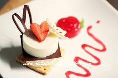 I always dream about desserts and sweet, what I want to eat or what I want to make ^^.