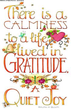 Free Gratitude Printable