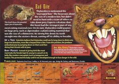 """"""" section, it lists the creature's pronunciation instead of time period. It is supposed to say Pleistocene. Extinct Animals, Prehistoric Animals, Mysteries Of The World, Wild Creatures, Cryptozoology, Animal Cards, Prehistory, Archaeology, A Team"""
