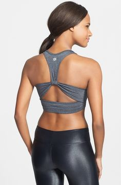 Yoga Clothes : Koral Cutout Racerback Sports Bra available at Not that I plan to just workout in my bra but if that day ever happened. Workout Attire, Workout Wear, Workout Outfits, Workout Tanks, Fitness Outfits, Fitness Fashion, Fitness Wear, Fitness Diet, Athletic Outfits