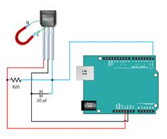 OH137 Hall Arduino Tutorial Connections