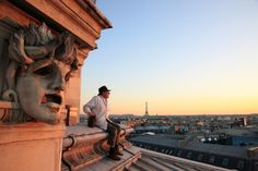 Did you know that 76-year-old Jean Paucton has been keeping bees on the roof of the Paris Opera Garnier for years? You can buy the honey as a souvenir. How cool is that?! Photo © Éric Tourneret.