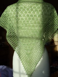 Lili Wen Fach - Snowdrop Lace Shawl Knitting Pattern PDF Digital Delivery. £3.50