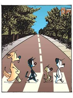 Mutts Beatles Style