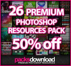 PacksDownload 700 resources deal - MightyDeals