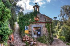 Abandoned chapel by Carles Cabrer - Abandoned chapel near Soller (Mallorca, Spain).