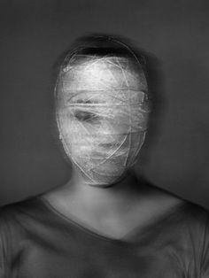 Juxtapoz Magazine - No Special Effects: Photography by Laurence Demaison A Level Photography, Dark Photography, Portrait Photography, Distortion Photography, Photography Sketchbook, Face Distortion, A Level Art, Human Condition, Special Effects