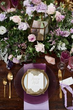 Lavender and Gold Wedding Styled Shoot { Your Lux-Bohemian Wedding Guide } itakeyou.co.uk | @itakeyou
